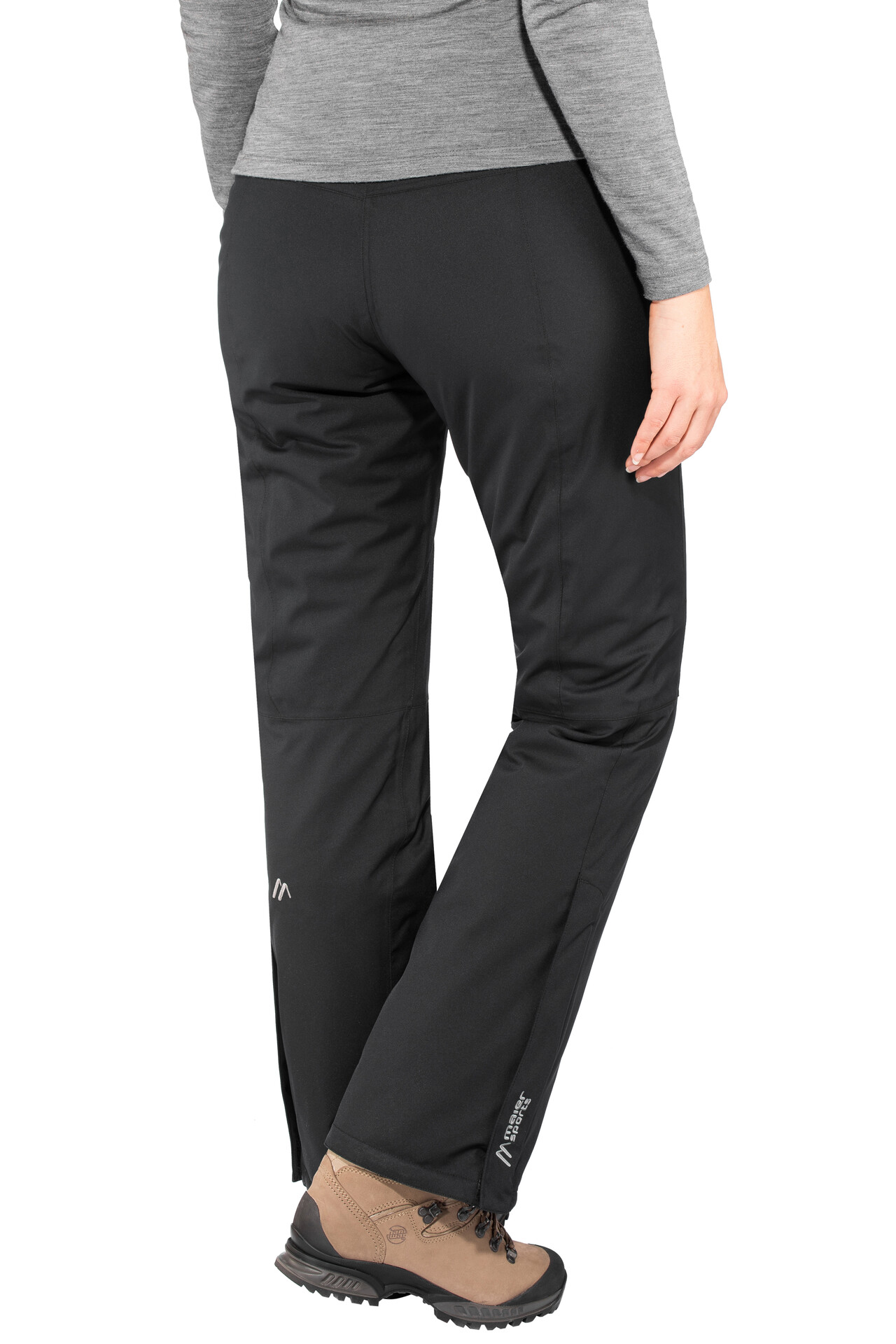 Maier Sports Ronka mTex pantaloni stretch da sci Donna, black su Addnature YfxmR